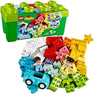 LEGO 10913 DUPLO Classic Brick Box Building Set with Storage, First Bricks Learning Toy for Toddlers 1.5 Year