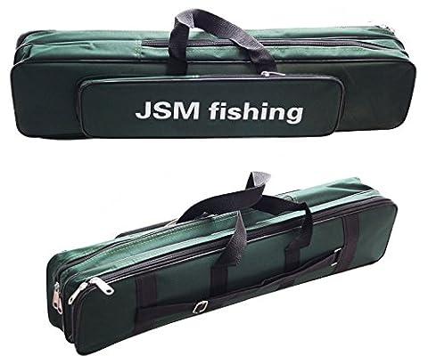 Jshanmei Oxford étanche Sac de pêche, Canne à pêche Coque, la pêche Gear Organiseur, stockage, Transport Attaquer Sac, portable, Fly Rod Cases et sacs