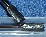 2x HM Fräser Zylinder , Schaft 6 mm, Stirnverzahnt Alu SB-2M-6-#1 - Dental Zahntechnik Bit