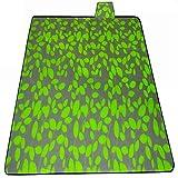 COPERTA da Picnic verde-impermeabile resistente triplo strato Coperta Campeggio Cucina