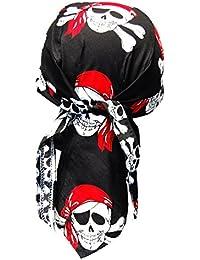 Biker Bandana Cap - Piraten