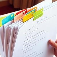 6Caja Colorful decorativa Escritura Papel fotográfico Clips requisitos de oficina escuela schreibwaren para estudiantes Niños