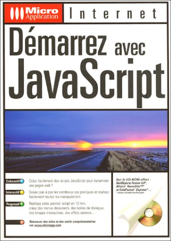 Démarrez avec Javascript, inclus 1 CD-ROM