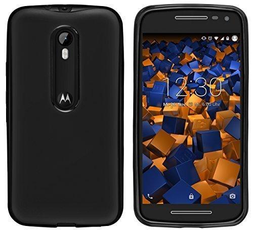 mumbi Coque de protection pour Noir Motorola Moto G 3ème Génération