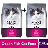 Maxi Persian Adult Dry Cat Food, Ocean Fish - 1.2 kg Pack
