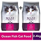 Maxi Persian Adult Dry Cat Food, Ocean Fish - 1.2 kg Pack (BUY1 GET 1 Free)