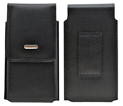 Caterpillar CAT B30 - Köcher Tasche Hülle Ledertasche Vertical Case Handytasche mit einer Gürtelschlaufe auf der Rückseite
