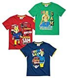 Feuerwehrmann Sam Jungen T-Shirt - grün - 110