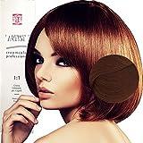 Coloration Professionnelle Pour Cheveux Blonde Clair Doré Dorés avec Ammoniaque 8/3 Permanente 100ml Made in Italy