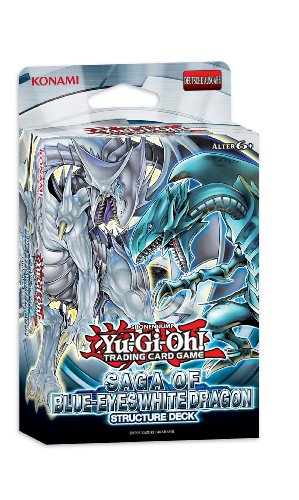 Konami 34197 - Yu-Gi-Oh Saga of Blue-Eyes, White Dragon Structure Deck (Deck Drachen Yugioh)
