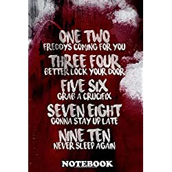 "Notebook: Elm Street , Journal for Writing, College Ruled Size 6"" x 9"", 110 Pages"