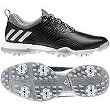 adidas Damen Adipower 4orged Golfschuhe, Schwarz (Negro/Plata Ac8351), 37 1/3 EU