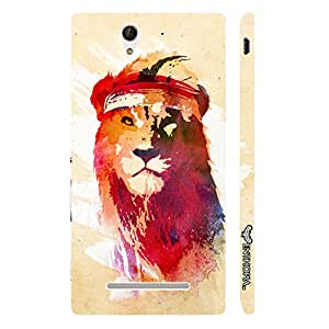 Enthopia Designer Hardshell Case Rapper Simba Back Cover for Sony Xperia C3