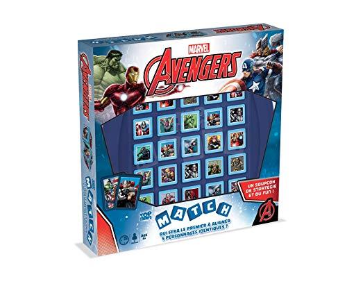 Match Avengers Jeu de Société, 0412