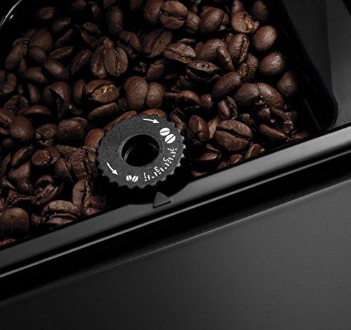 DeLonghi ESAM 3000.B Kaffee-Vollautomat (1350Watt, 1,8 Liter, 15 bar, Dampfdüse) schwarz - 5