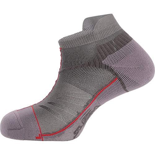 Sport Lite Socken (Salewa Lite Trainer SK Socken, Ombre Blue/Tango Red, 38-40)