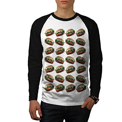 burger-multiple-joy-junk-food-men-new-white-black-sleeves-l-baseball-ls-t-shirt-wellcoda