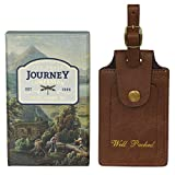Ted Baker Luggage Tag - Brown