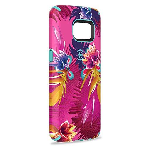 Speck 73804-5376 Inked CandyShell harte Schutzhülle für Apple iPhone 6/6S Plus 13,97 cm 5,5 Zoll) pineapple pac/knight lila fuchsia/mykonos blau