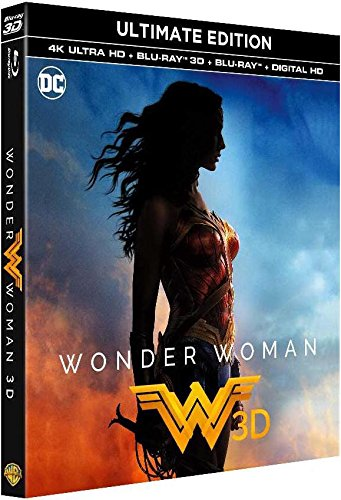 Wonder Woman - Ultime Edition Bluray 4K + Bluray 3D + Bluray [Ultimate Edition - 4K Ultra HD + Blu-ray 3D + Blu-ray + Digital HD]