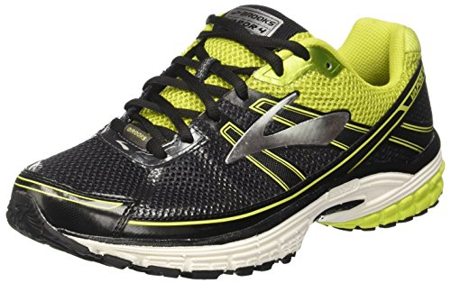 Brooks Men's Vapor 4 Running Shoes, Black (Anthracite/Limepunch/Silver), 8 UK