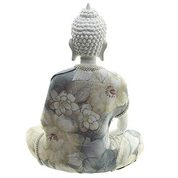 Decorativo floral Relajación figura decorativa de Buda 5
