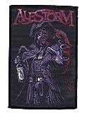 ALESTORM - Rum Pirate - Aufnäher / Patch - gewebt / woven