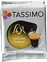 Tassimo Dosettes Café - L'OR Long Classic - 80 boissons (Lot de 5X16 T DISCs)