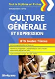 BTS toutes filières - Épreuve de culture générale et expression...