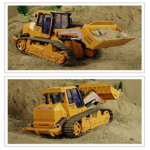 RC Auto kaufen Kettenfahrzeug Bild 5: TianranRT 1: 12 RC Bagger Schaufel Fernbedienung Kontrolle Bau Planierraupe LKW Spielzeug Licht*