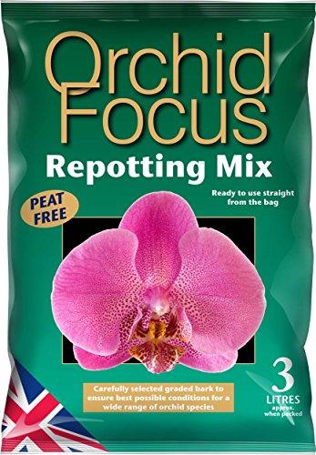 Mélange pour rempotage Orchid Focus 3 litres