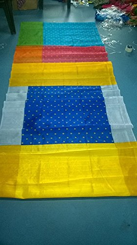 Sarees-for-Women-Party-Wear-offer-Sarees-New-Collection-Today-Low-Price-Sarees-in-Multi-coloured-BHAGALPURI-SILK-Material-Latest-Saree-With-Blouse-Free-Size-Beautiful-Sarees-With-Blouse