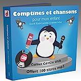 Comptines et chansons pour Mon enfant-100 Titres (1 CD+1 CLE USB)