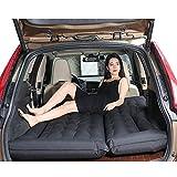 LPY-Auto-Reise-aufblasbares Matratze-SUV-Luft-Bett-Rücksitz-Camping-Schlaf-Kissen mit , black