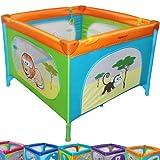 Reisebett Kinderbett Klappbett Farb- und Musterwahl inkl. Matratze, Tasche & Spielringe thumbnail