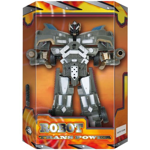 WDK PARTNER - A1200073 - Figurines - Robot Transformable 17 cm