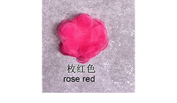 647e3b9489 Pinkdose® 100Pcs Rose Red: 100Pcs/Lot 10Colors DIY Handmade 3D ...
