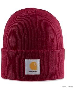 Carhartt A18 Watch Hat - Beanie - Mütze (Dark Crimson)