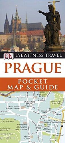 DK Eyewitness Pocket Map and Guide: Prague