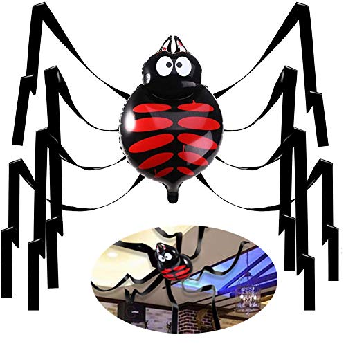 OCMCMO Halloween Deko,26 Zoll Gigant Spinne für Decken- und Wanddekoration, Halloween Party Deko