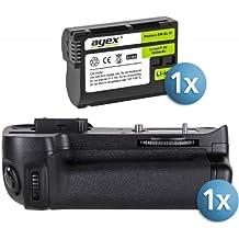 Khalia-Foto 5590 - Empuñadura de batería para Nikon D7100 / D7200, color negro - paquete con batería EN-EL15