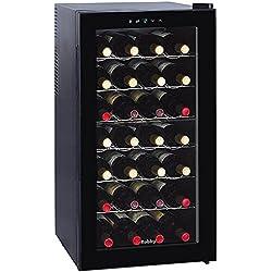 Cave à vin de service 28 bouteilles - WINE CELLAR - CELLAR 28 - ROBBY (Porte transparente)