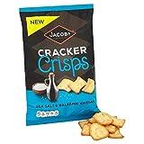 Jakobs Cracker Chips Meersalz & Balsamico-Essig 150G - Packung mit 2