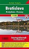 Bratislava, Stadtplan 1:10.000, City Pocket + The Big Five, freytag & berndt Stadtpläne