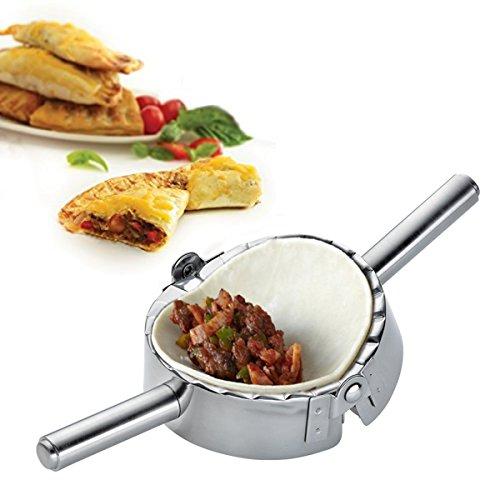 Best Utensilien Edelstahl Ravioli piroggen Dumpling Maker Wrapper-Gebäck Teig Cutter Küche Zubehör, 12cm
