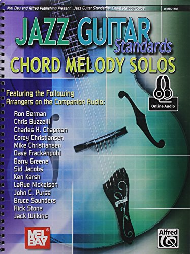 Jazz Guitar Standards Chord Melody Solos par Divers Auteurs