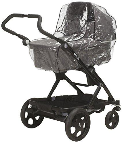 Playshoes 448966 Universal Regenverdeck, Regenschutz, Regenhaube für Kinderwagen, Dreiradwagen mit Kontaktfenster