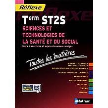 Toutes les matières Sciences et technologies de la santé et du social - Terminale ST2S