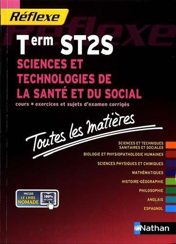 Toutes les matires Sciences et technologies de la sant et du social - Terminale ST2S