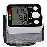 WANGXN Tensiomètre Au Poignet avec Écran LCD, Moniteur Cardiaque Automatique À 198 Mémoires